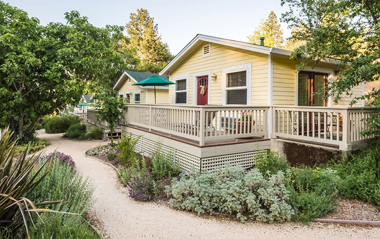 Charming Cottages with Private Decks
