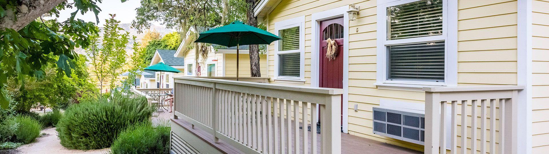 Aurora Park Cottages, Calistoga - About Us